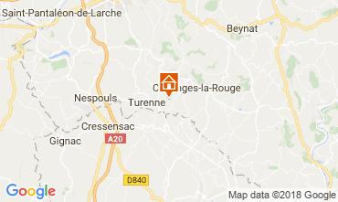 Carte Brive-la-Gaillarde Maison 115407