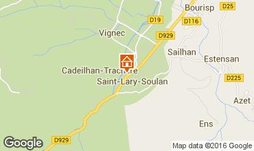 Carte Saint Lary Soulan Appartement 102268