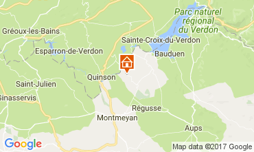Carte Artignosc-sur-Verdon Maison 109482