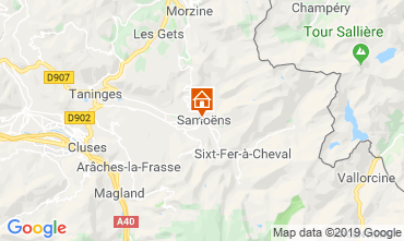 Carte Samoëns Appartement 118547