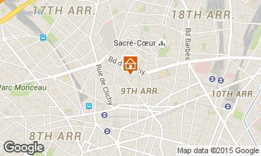Carte PARIS Appartement 94446