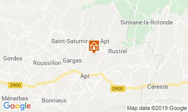 Carte Roussillon Gite 119396