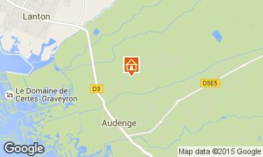 Carte Audenge Villa 98474
