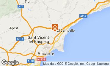 Carte Alicante Villa 95806