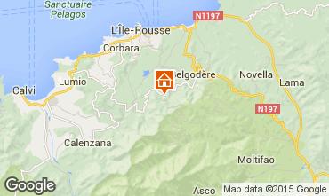 Carte Ile Rousse Maison 12825