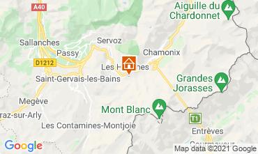 Carte Chamonix Mont-Blanc Chalet 1412
