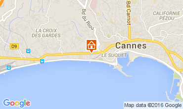 Carte Cannes Appartement 104812