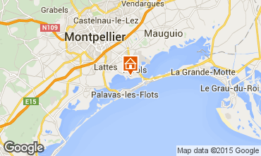 Carte Montpellier Mobil-home 81721