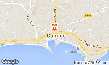 Carte Cannes Appartement 58684