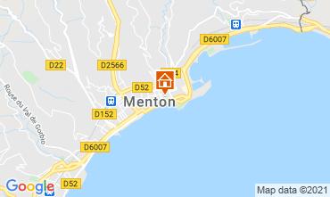 Carte Menton Appartement 101898