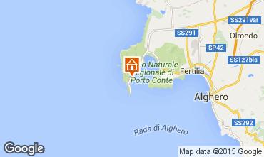 Carte Alghero Villa 57483
