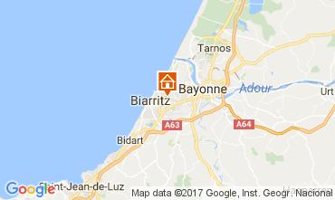 Carte Biarritz Appartement 109041
