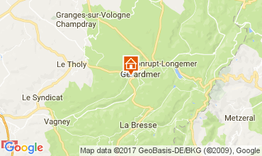 Carte Gérardmer Chalet 108389