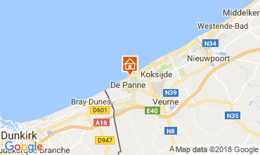 Carte La Panne Appartement 115662