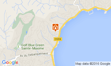Carte Sainte Maxime Appartement 97813