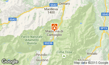 Carte Madonna di Campiglio Appartement 50220
