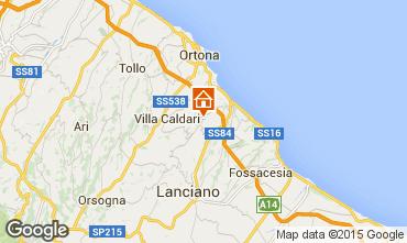 Carte San Vito Chietino Appartement 99082