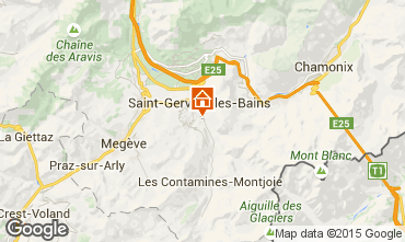 Carte Saint Gervais Mont-Blanc Appartement 58587