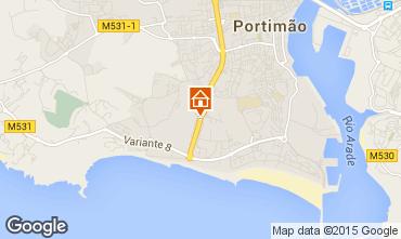 Carte Praia da Rocha Appartement 68992