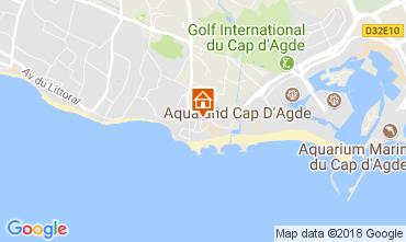 Carte Cap d'Agde Villa 113221