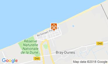 Carte Bray-Dunes Appartement 116496