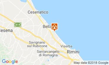 Carte Bellaria Igea Marina Appartement 82153