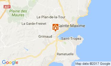 Carte Saint Tropez Maison 70377