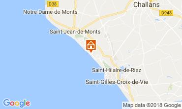Carte Saint Hilaire de Riez Appartement 103867