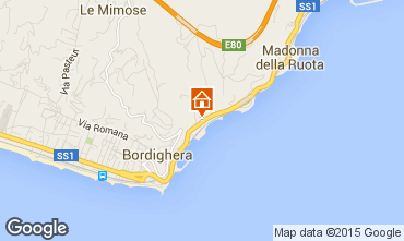 Carte Bordighera Appartement 101481
