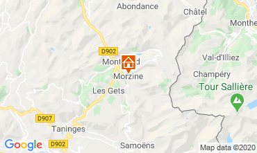Carte Morzine Appartement 27838