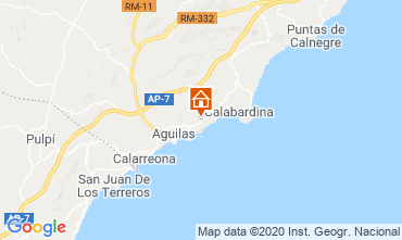 Carte Águilas Appartement 108388