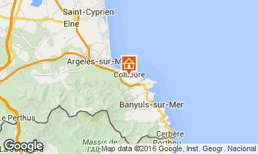 Carte Collioure Appartement 102726