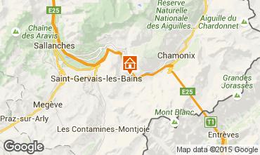 Carte Chamonix Mont-Blanc Chalet 686