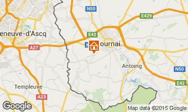 Carte Tournai Gite 95142