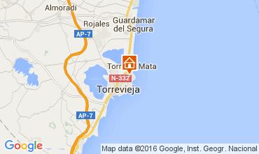 Carte Torrevieja Appartement 83846