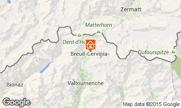 Carte Cervinia (Breuil) Appartement 28644