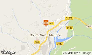 Carte Bourg saint Maurice Appartement 81054
