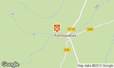 Carte Formiguères Chalet 4020