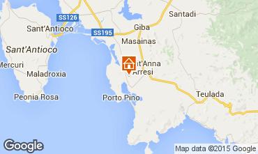 Carte Sant'Anna Arresi Maison 72959