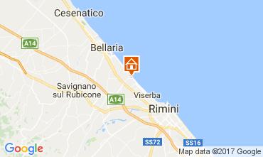 Carte Bellaria Igea Marina Appartement 102721
