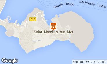 Carte Saint Mandrier sur Mer Studio 11487
