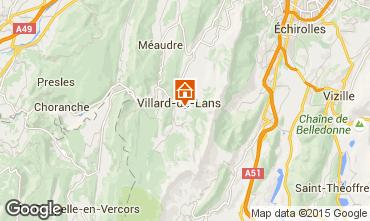 Carte Villard de Lans - Corrençon en Vercors Studio 28781