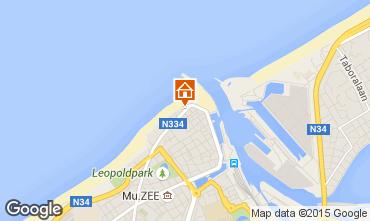 Carte Ostende Appartement 78398
