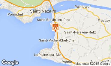 Carte Saint Brevin les Pins Mobil-home 101707
