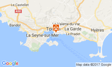 Carte Toulon Studio 107828