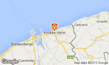 Carte Knokke-le-Zoute Appartement 9581