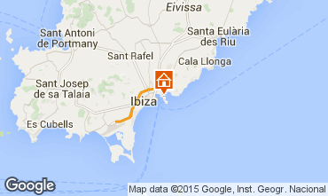 Carte Ibiza Appartement 87083