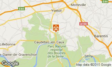 Carte Saint-Wandrille-Rançon Gite 82307