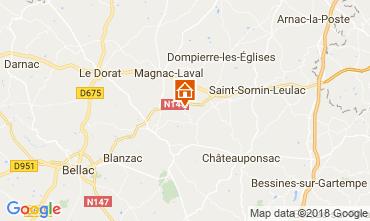 Carte Bellac Chalet 114743