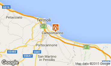 Carte Campomarino Appartement 57140